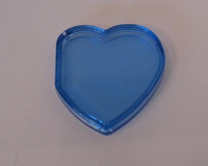 Beanie Baby Tag Cover (Blue Heart)
